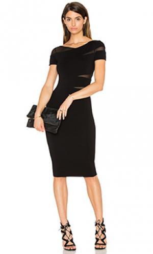 Платье миди delap Bailey 44. Цвет: черный