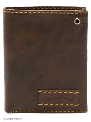 Портмоне Gianni Conti. Цвет: темно-коричневый