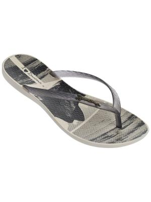 Шлепанцы Ipanema. Цвет: бежевый, серый, черный