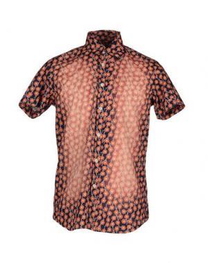 Pубашка ORIGINAL VINTAGE STYLE. Цвет: темно-синий