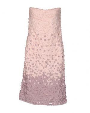 Платье до колена MUSANI COUTURE. Цвет: розовый