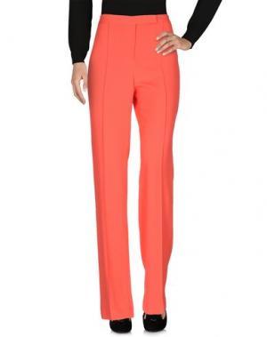 Повседневные брюки FONTANA COUTURE. Цвет: коралловый