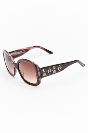 Очки солнцезащитные Laura Biagiotti. Цвет: розовый