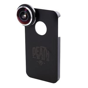 Чехол для Iphone  Fisheye Lens Dk. Blue Box 4/4s Death. Цвет: черный