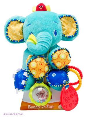 Развивающая игрушка Море удовольствия, Слонёнок BRIGHT STARTS. Цвет: голубой