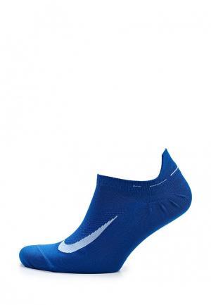 Носки Nike. Цвет: синий