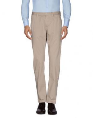 Повседневные брюки HAMAKI-HO. Цвет: песочный