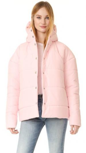 Объемная пуховая куртка A.W.A.K.E.. Цвет: розовый
