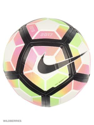 Мяч NIKE STRIKE. Цвет: черный, салатовый, розовый