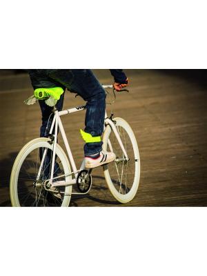 Чехол для седла велосипеда Donkey. Цвет: желтый