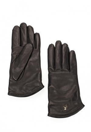 Перчатки Patrizia Pepe. Цвет: черный