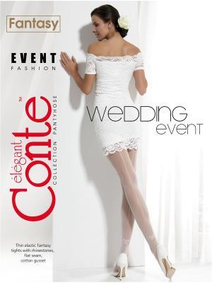Колготки Conte EVENT Elegant. Цвет: кремовый