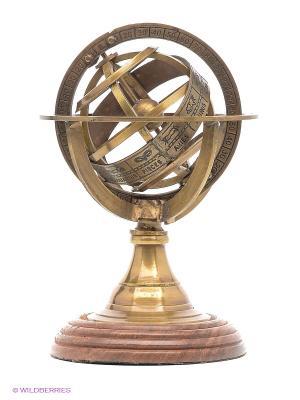 Армиллярная сфера Птолемей Экспедиция. Цвет: золотистый