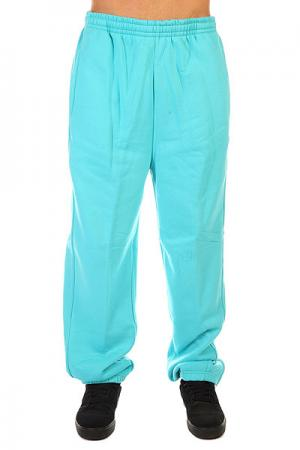 Штаны широкие  Sweatpants Aqua Urban Classics. Цвет: голубой