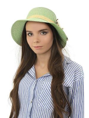 Шляпа Happy Charms Family. Цвет: зеленый, бежевый