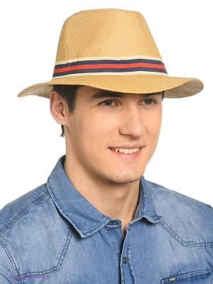 Шляпа Shapkoff. Цвет: бежевый, красный