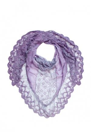 Платок Le Motif Couture. Цвет: фиолетовый