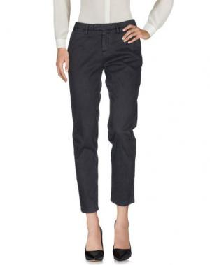 Повседневные брюки HAIKURE. Цвет: свинцово-серый