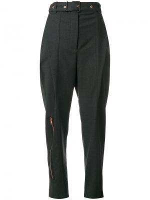 Прямые брюки Proenza Schouler. Цвет: серый