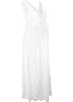 Платье свадебное/вечернее для беременных (кремовый) bonprix. Цвет: кремовый