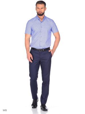 Рубашка CARAT.. Цвет: синий, белый