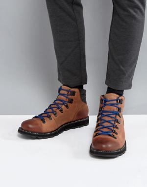 Sorel Коричневые водонепроницаемые походные ботинки Madson. Цвет: коричневый