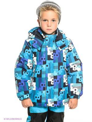 Куртка Kerry. Цвет: синий, фиолетовый, белый