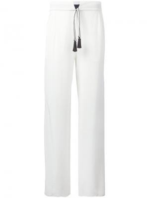 Daimahose trousers Antonia Zander. Цвет: белый