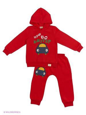 Комплект Kidly. Цвет: красный