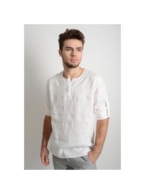 Рубашка Индиго LINO RUSSO. Цвет: белый