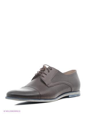 Туфли BELWEST. Цвет: коричневый