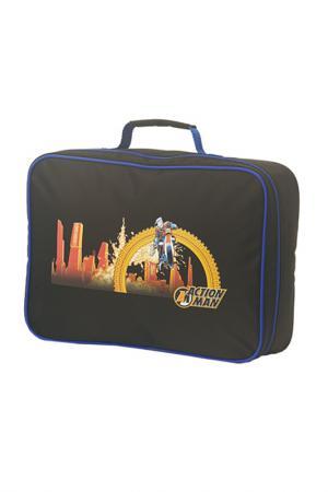 Детский чемодан Schneiders. Цвет: black