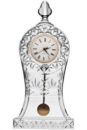 Часы, 30,5 см с маятником Crystalite Bohemia. Цвет: прозрачный