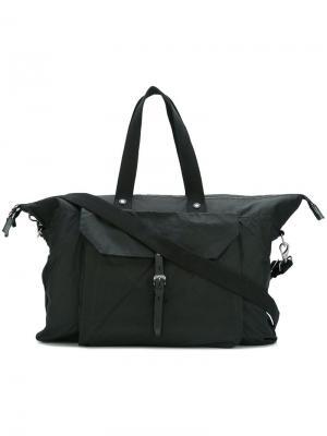 Дорожная сумка Freddie Ally Capellino. Цвет: чёрный