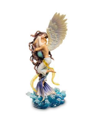Статуэтка Нереальная любовь Veronese. Цвет: бежевый, синий