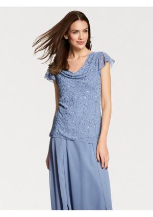 Блузка ASHLEY BROOKE by Heine. Цвет: синий