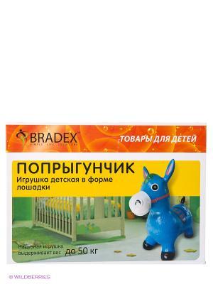 Игрушка, в форме лошадки ПОПРЫГУНЧИК BRADEX. Цвет: голубой
