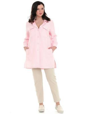 Жакет SVESTA. Цвет: бледно-розовый
