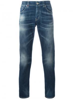 Зауженные джинсы Dondup. Цвет: синий