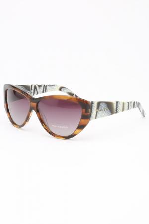 Очки солнцезащитные Lina Latini. Цвет: коричневый
