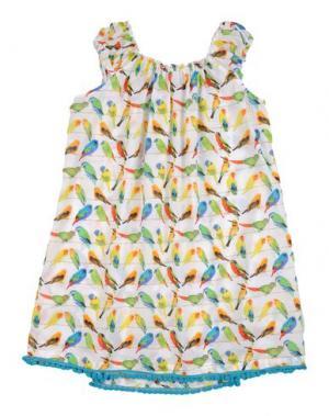 Пляжное платье SELINI ACTION. Цвет: белый