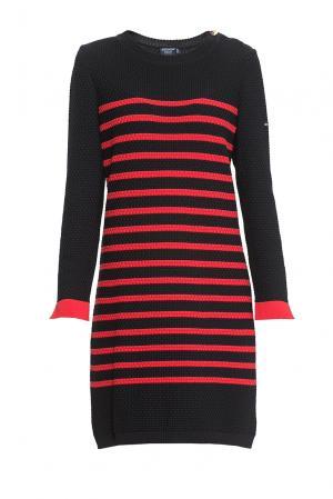 Платье из шерсти 170676 Saint James. Цвет: разноцветный