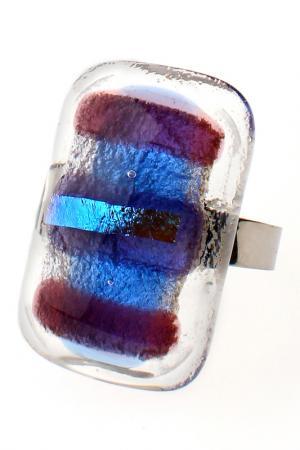 Кольцо Rozzeta. Цвет: синий