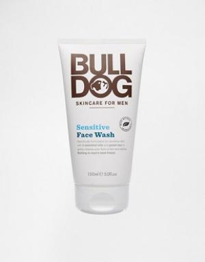 Bulldog Средство для умывания Sensitive Face Wash. Цвет: белый