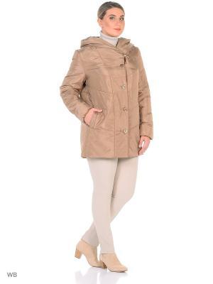 Пальто MONTSERRAT. Цвет: светло-коричневый