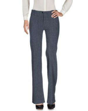Повседневные брюки ROBERTA SCARPA. Цвет: серый
