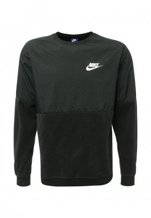 Свитшот Nike. Цвет: хаки