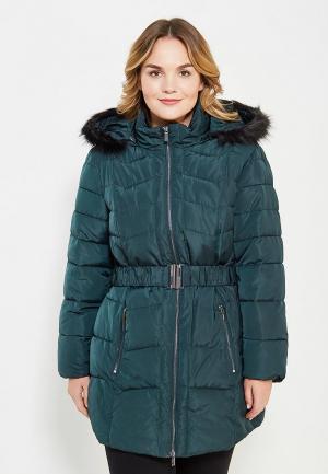 Куртка утепленная Evans. Цвет: зеленый