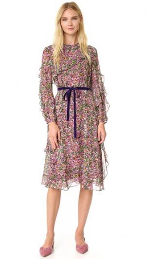 Платье Rose Leur Logette. Цвет: розовый
