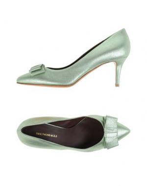 Туфли BRUNO MAGLI. Цвет: светло-зеленый